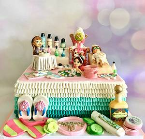 Spa!! - Cake by Tiers of joy