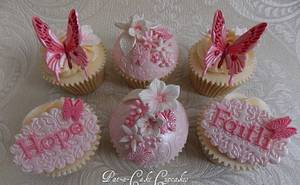 Butterflies to remember an Angel..... - Cake by Pat