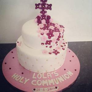Holy communion  - Cake by Marie