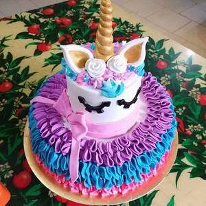 Unicornio..  - Cake by Ayebasualto20