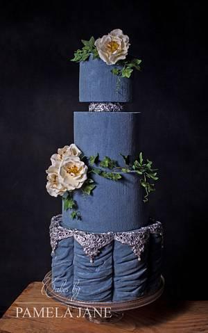 Blue Velvet  - Cake by Pamela Jane
