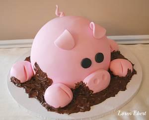 This Little Piggy...... - Cake by Loren Ebert
