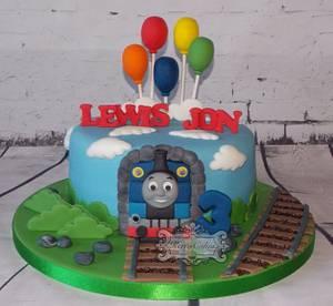 Thomas the tank engine - Cake by kerrycakesnewcastle