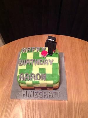 Minecraft Birthday Cake - Cake by Sarah's Crafty Cakes