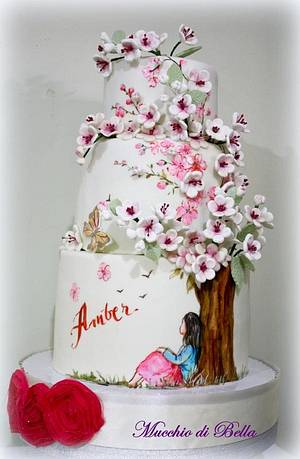 Sakura Cake - Cake by Mucchio di Bella