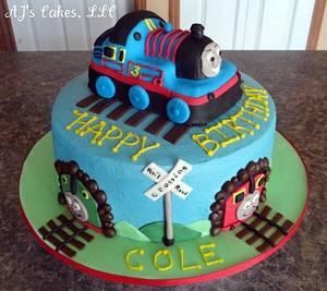 Thomas Cake - Cake by Amanda Reinsbach