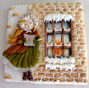 Christmas Carols! - Cake by The Cookie Lab  by Marta Torres