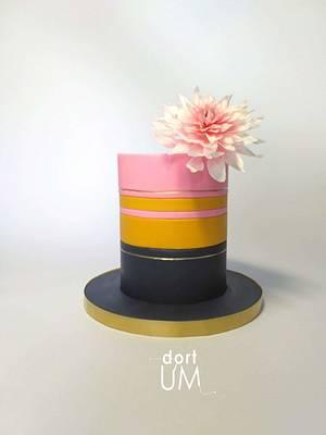 Dahlia cake - Cake by dortUM