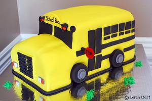 Back to School Cake! - Cake by Loren Ebert
