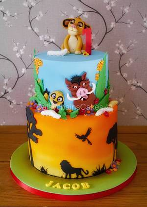 Lion king cake - Cake by Daisychain's Cakes
