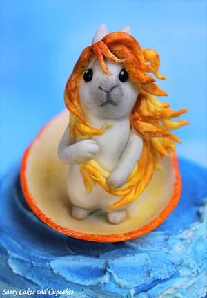 Venus Bunny - Cake by Sassy Cakes and Cupcakes (Anna)
