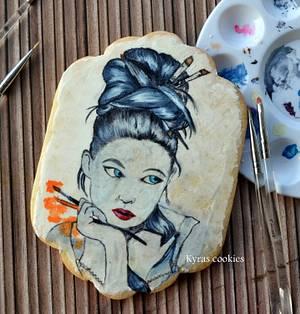 Pinceles!!! - Cake by Anna Bonilla