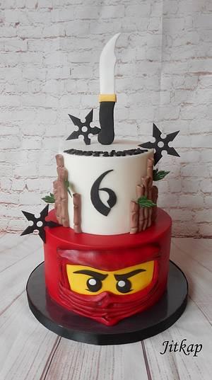 Lego Ninjago cake - Cake by Jitkap
