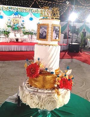 Wedding cake - Cake by Thangu