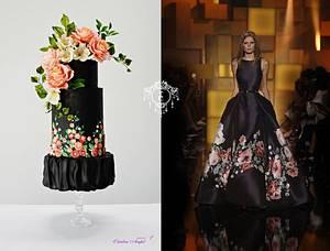 Couture Cake 2018- Eli Saab inspired cake - Cake by Catalina Anghel azúcar'arte