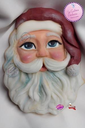 Santa 🎅🏻 cookie  - Cake by Sarahy Millán