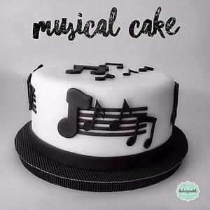 Torta Musical en Medellín - Cake by Dulcepastel.com