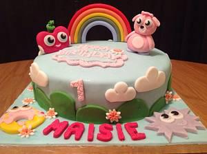 Moshi Monsters Birthday Cake - Cake by Sarah's Crafty Cakes
