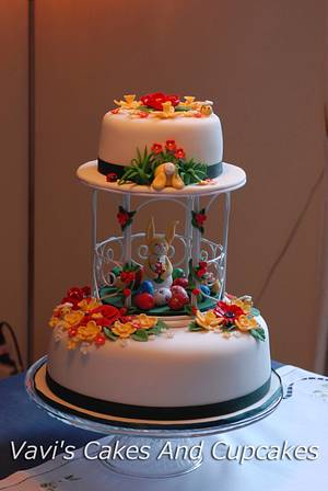 An Easter Celebration  - Cake by Vavijana Velkov