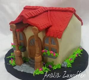 home - Cake by Analia Zumoffen