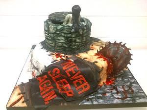 Patchwork Horror - Cake by Danielle Lainton