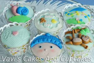 Baby Boy Cupcakes - Cake by Vavijana Velkov