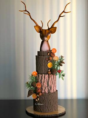 Winter cake!... - Cake by More_Sugar