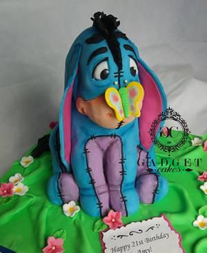 Eeyore cake  - Cake by Gadget Cakes