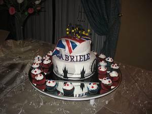 I <3 London! - Cake by Roberta Romano
