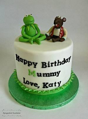 Kermit & Rizzo Cake - Cake by Spongecakes Suzebakes