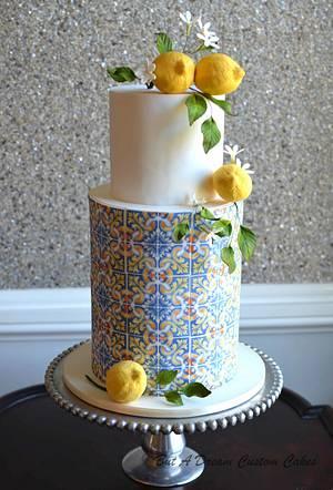 Italian tile cake - Cake by Elisabeth Palatiello