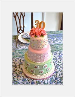 Cath Kidston birthday cake - Cake by Rebecca Grace