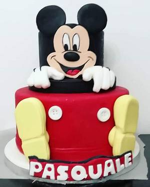Michey mouse cake - Cake by Gabriella Luongo