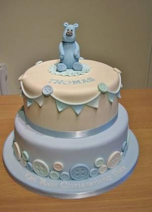 Christening Cake - Cake by Deborah Cubbon (the4manxies)