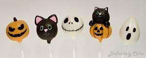 Halloween Cake Pops - Cake by Definitely Cake