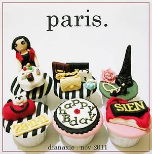 Paris - Cake by Diana