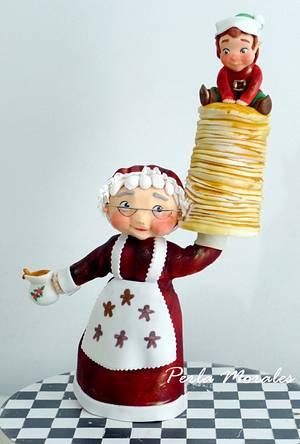 sweet Christmas  - Cake by PerlaMorales