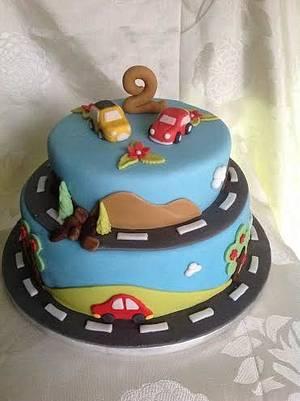 Cars, cars, cars... - Cake by Irina Vakhromkina