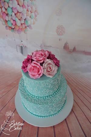 Beautiful roses - Cake by Zaklina