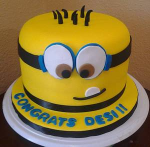 Despicable Me Cake - Cake by Rosa