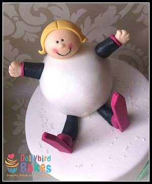 Snowball Get Well Soon - Cake by Dollybird Bakes