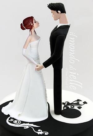 Yin Yang Wedding - Cake by il mondo di ielle