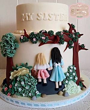 My Sister My Friend - Cake by Bobbie-Anne Wright (For Heaven's Cake)