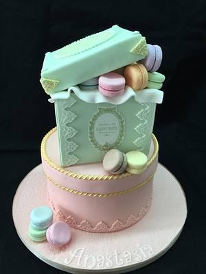 Laduree macaroons cakes - Cake by Galatia
