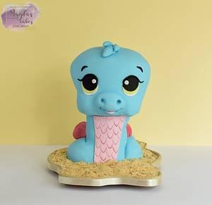 Sandsnake :) - Cake by Magda's Cakes (Magda Pietkiewicz)