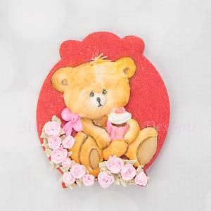 Summer Teddy Bear - Cake by Bobbie