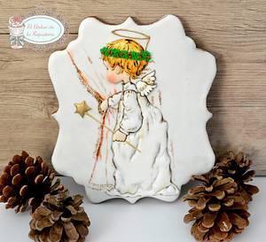 Angelito de navidad - Cake by El Atelier de la Repostería