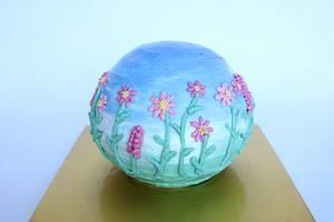 cosmos buttercream cake - Cake by fantasticake by mihyun