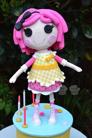 LaLaLoopsy - Cake by Susan