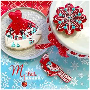 "Christmas mood..❄️ - Cake by Nadia ""My Little Bakery"""
